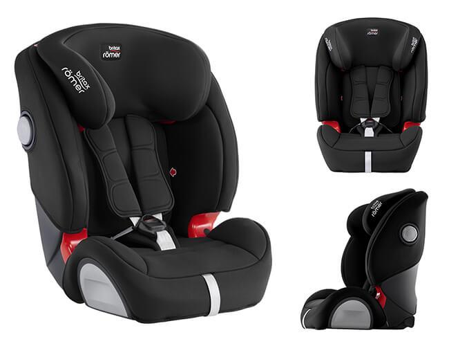 Fotelik samochodowy BRITAX ROMER EVOLVA 1-2-3 SL SICT dla dzieci 9-36 kg 1