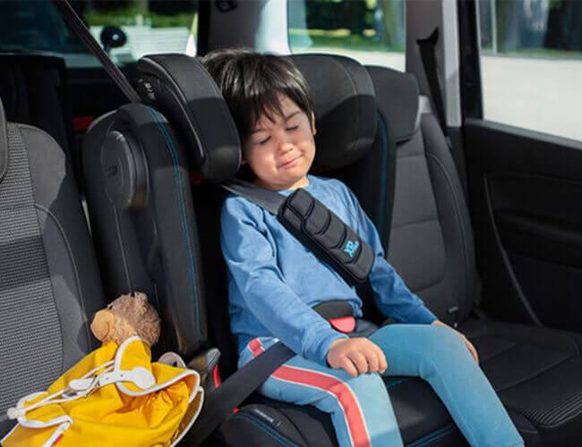 KIDFIX III S - bezpieczna jazda, wygodny odpoczynek