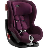 Fotelik samochodowy BRITAX ROMER KING II BLACK SERIES dla dzieci 9-18 kg