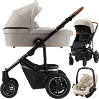 Wózek 3w1 Britax SMILE 3 + fotelik Maxi Cosi PEBBLE PRO