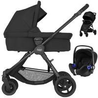 Wózek 3w1 BRITAX ROMER B-AGILE 4 PLUS + fotelik samochodowy Baby Safe i-Size