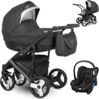 Wózek 3w1 Camarelo BALEO + fotelik Maxi Cosi CITI