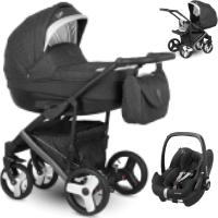 Wózek 3w1 Camarelo BALEO + fotelik Maxi Cosi PEBBLE PRO