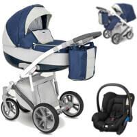 Wózek 3w1 CAMARELO CANILLO + fotelik Maxi Cosi CITI