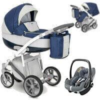 Wózek 3w1 CAMARELO CANILLO + fotelik Maxi Cosi PEBBLE PRO
