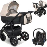 Wózek 3w1 CAMARELO LUPUS + fotelik Maxi Cosi CABRIO FIX