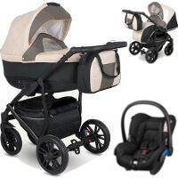 Wózek 3w1 CAMARELO LUPUS + fotelik Maxi Cosi CITI