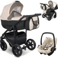 Wózek 3w1 CAMARELO LUPUS + fotelik Maxi Cosi PEBBLE PRO