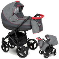 Wózek dziecięcy 2w1 CAMARELO NESO