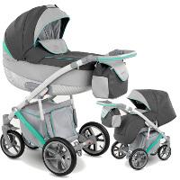 Wózek dziecięcy 2w1 CAMARELO PIRO