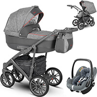 Wózek 3w1 CAMARELO VEO + fotelik Maxi Cosi PEBBLE PRO
