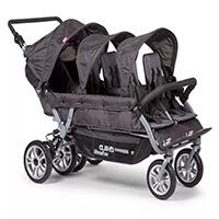 Wózek dla 6 dzieci, dla żłobków Childhome SIXSEATER 2