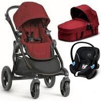 Wózek 3w1 BABY JOGGER CITY SELECT + fotelik Cybex ATON M