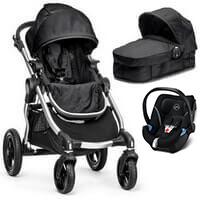 BABY JOGGER CITY SELECT wózek 3w1 z fotelikiem CYBEX ATON 5