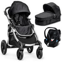 Wózek 3w1 BABY JOGGER CITY SELECT + fotelik Cybex ATON 5