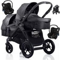 Wózek bliźniaczy 3w1 BABY JOGGER CITY SELECT DOUBLE + 2 foteliki Maxi Cosi CITI
