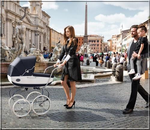 Klasyczny wózek Inglesina Balestrino