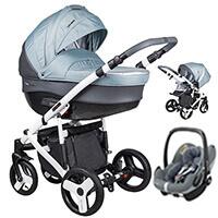 Wózek 3w1 COLETTO FLORINO + fotelik Maxi Cosi PEBBLE PRO