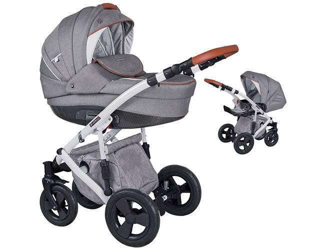 Wózek dziecięcy 2w1 COLETTO MILANO 1