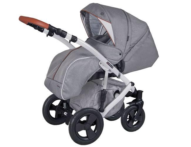 Wózek dziecięcy 2w1 COLETTO MILANO 4