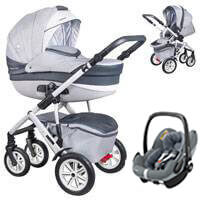 Wózek 3w1 COLETTO VERONA + fotelik Maxi Cosi PEBBLE PRO