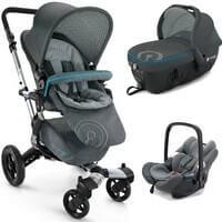 Wózek 3w1 CONCORD NEO TravelSet + fotelik AIR.SAFE