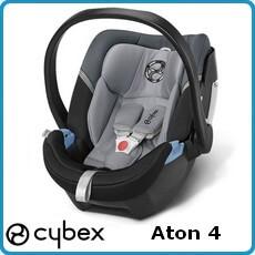 Cybex fotelik samochodowy Aton 4 dla dzieci 0-13kg