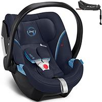 Fotelik samochodowy CYBEX ATON 5 dla dzieci 0-13kg + baza ISOFIX