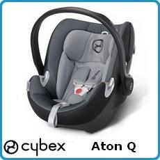 Cybex fotelik samochodowy Aton Q dla dzieci 0-13kg