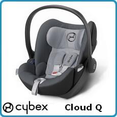 Cybex fotelik samochodowy Cloud Q dla dzieci 0-13kg