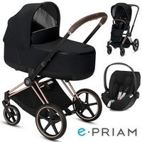 CYBEX E-PRIAM 2.0 wózek 3w1 z fotelikiem CLOUD Z i-Size