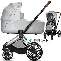 CYBEX E-PRIAM 2.0 KOI Crystal Lized wózek 2w1