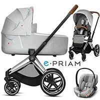 CYBEX E-PRIAM 2.0 KOI wózek 3w1 z fotelikiem CLOUD Z I-ISIZE