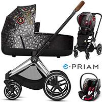 CYBEX E-PRIAM 2.0 REBELLIOUS wózek 3w1 | CLOUD Z i-Size