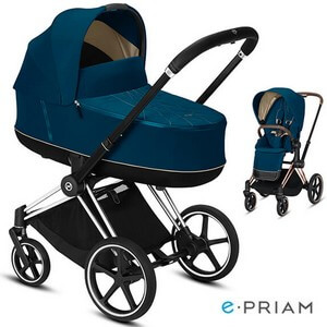 CYBEX E-PRIAM 2.0 wózek dziecięcy 2w1
