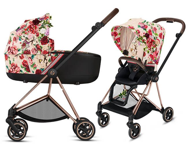 Wózek 2w1 Cybex PRIAM 2.0 SPRING Fashion Edition SPRING BLOSSOM 1