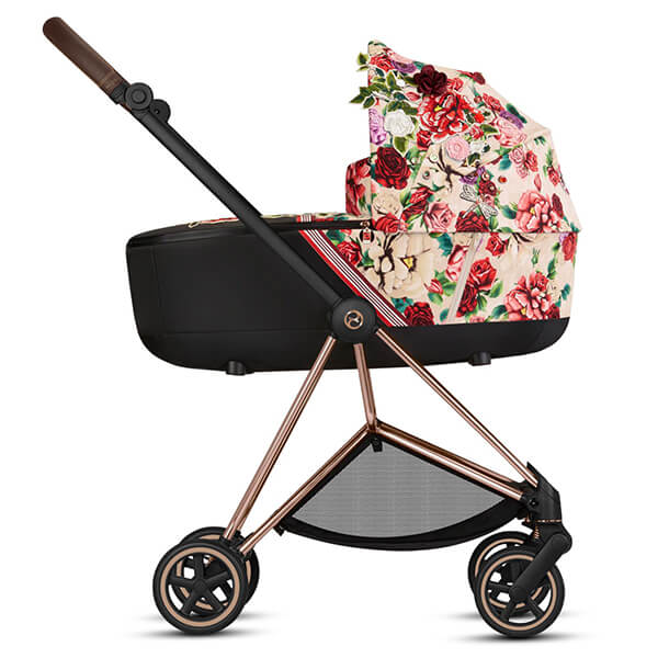 Wózek 2w1 Cybex PRIAM 2.0 SPRING Fashion Edition SPRING BLOSSOM 4