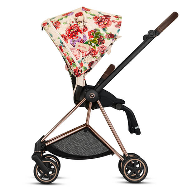 Wózek 2w1 Cybex PRIAM 2.0 SPRING Fashion Edition SPRING BLOSSOM 5