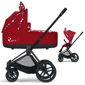 CYBEX PRIAM 2.0 Petticoat Red wózek dziecięcy 2w1 | for Katy Perry
