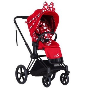 CYBEX PRIAM 2.0 PETTITCOAT RED wózek spacerowy | for Katy Perry