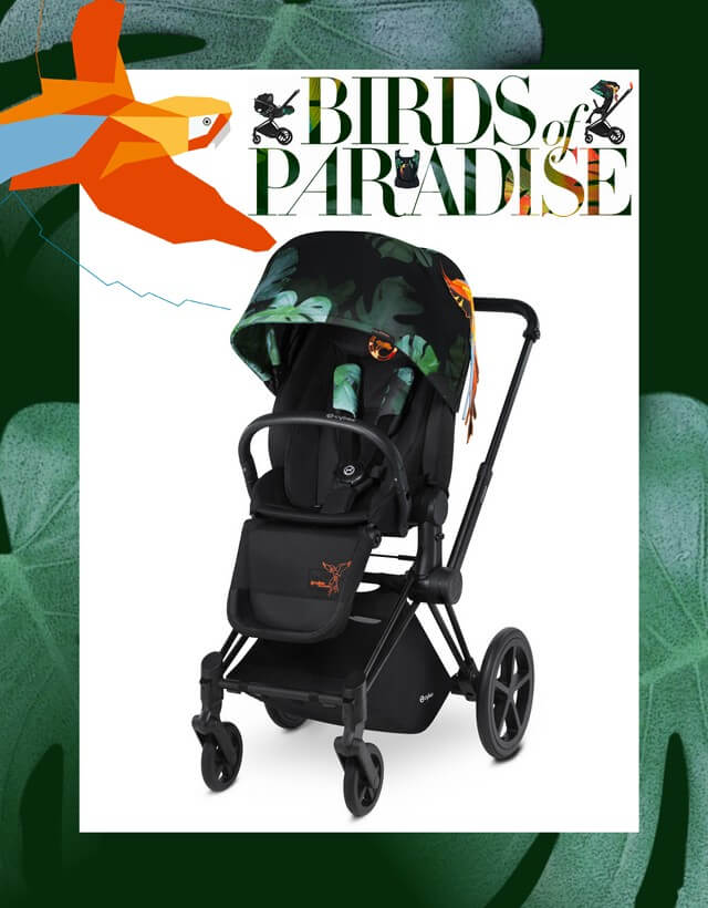 CYBEX Platinum PRIAM Birds of Paradise wózek spacerowy