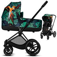 Wózek dziecięcy 2w1 CYBEX PRIAM 2.0 Birds of Paradise