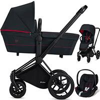 Wózek dziecięcy 3w1 Cybex for Scuderia Ferrari PRIAM + fotelik CLOUD Z i-Size