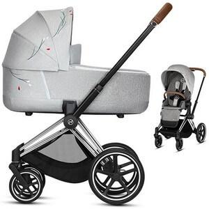 Wózek dziecięcy 2w1 CYBEX PRIAM 2.0 KOI Crystal Lized