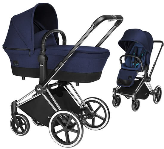 CYBEX PRIAM LUX wózek głęboko-spacerowy ROYAL BLUE 1