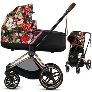 Wózek 2w1 Cybex PRIAM 2.0 Fashion Edition SPRING BLOSSOM
