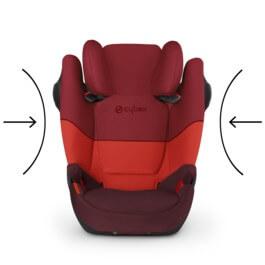 dzieci cy fotelik samochodowy cybex solution m fix sl dla. Black Bedroom Furniture Sets. Home Design Ideas