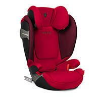 CYBEX for Scuderia Ferrari SOLUTION S-FIX fotelik 15-36kg
