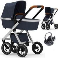 Wózek 3w1 DUBATTI ONE + fotelik BeSafe iZi GO MODULAR i-Size