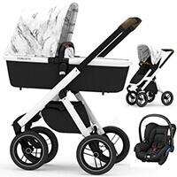 Wózek 3w1 DUBATTI ONE + fotelik Maxi Cosi CITI